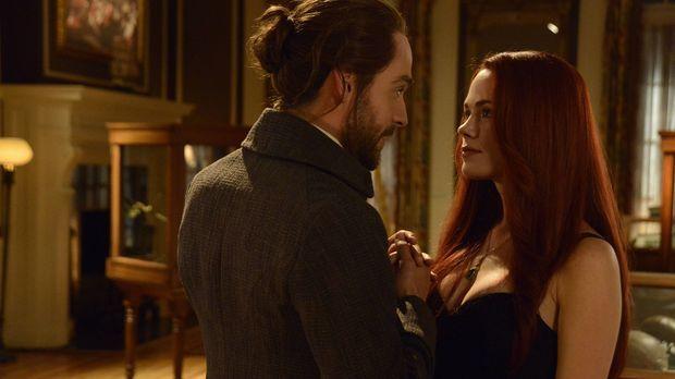 Eigentlich wollten sich Ichabod (Tom Mison, l.) und Katrina (Katia Winter, r....
