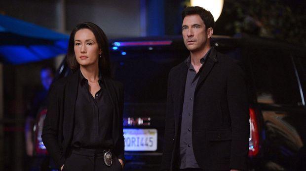Ein neuer Fall wartet auf Jack (Dylan McDermott, r.) und Beth (Maggie Q, l.)...