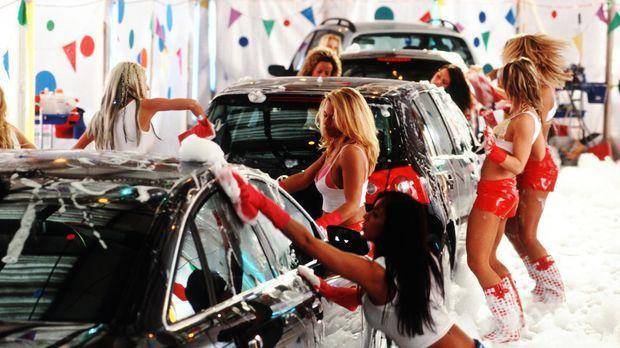 In der Autowaschanlage