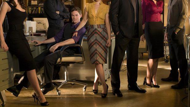 (8. Staffel) - Um sie dreht sich alles in Smallville (v.l.n.r.): Lois Lane (E...