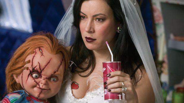 Mörderpuppenpärchen Chucky, l. und Tiffany haben endlich die Körper gefunden,...