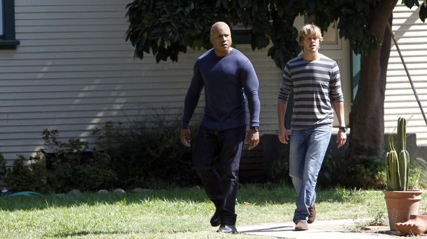 Ermitteln in einem neuen Fall: Sam (LL Cool J, l.) und Deeks (Eric Christian...