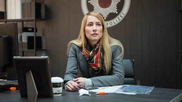 Die Berliner Hauptkommissarin Kathrin Eichholz (Florentine Lahme) steht vor e...