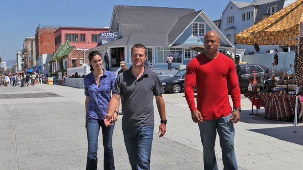 Arbeiten an einem neuen Fall: Agent G. Callen (Chris O'Donnell, M.), Special...