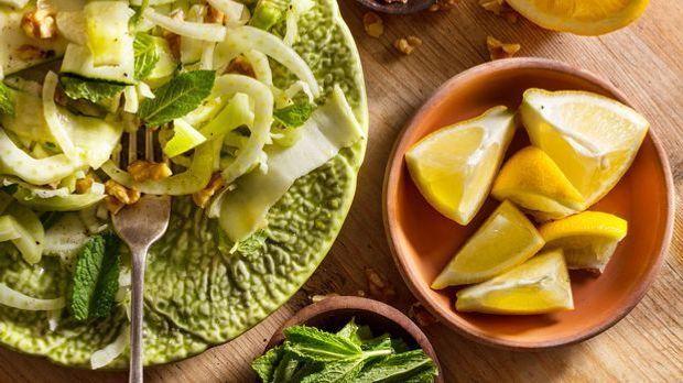 Fenchel-Walnuss-Salat à la Frank Rosin