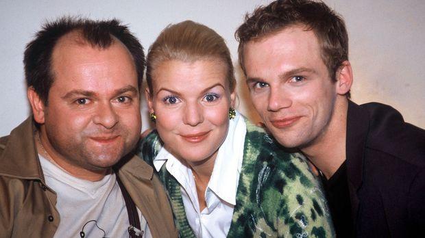 v.l.n.r.: Markus Majowski, Mirja Boes und Ralf Schmitz © Stephan Power Sat.1