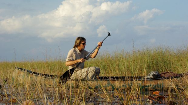 Austin Stevens ist in Florida unterwegs, weil er eine schwer aufzuspürende Ri...
