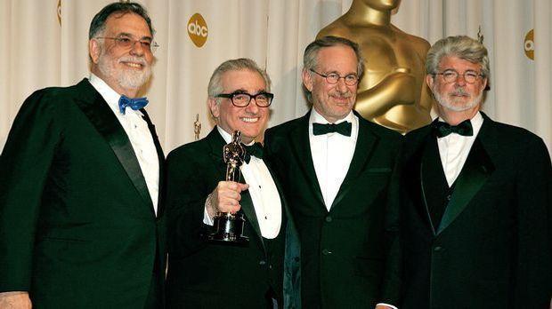 Francis Ford Coppola, Martin Scorsese, Steven Spielberg, George Lucas