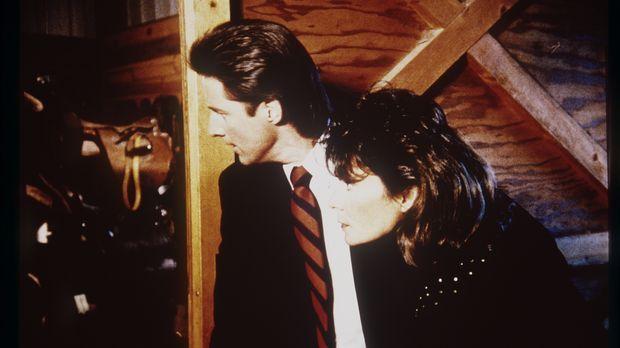 Lee (Bruce Boxleitner, l.) und Amanda (Kate Jackson, r.) sind einem Gemäldedi...