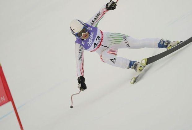 Maria Schkanowa hat die Slalom-Qualifikation gewonnen