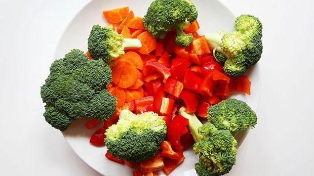 Statt dem Spinat kann man auch alle möglichen anderen Gemüsesorten verwenden.