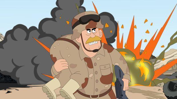 Weshalb hat Woody als einziger der roten Totenschädel den Kriegseinsatz unver...