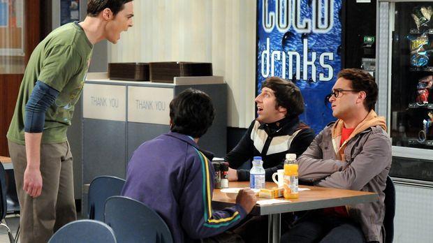 Sind sich nicht immer einig: Sheldon (Jim Parsons, l.), Raj (Kunal Nayyar, 2....