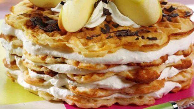 Spezial-Burger mit Eis, Himbeeren und Ananas