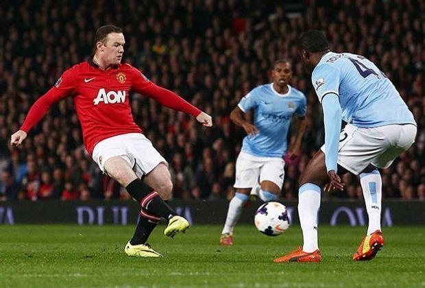 Manchester City gegen Manchester United