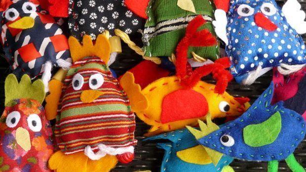 Fingerpuppen Hühner basteln_Pixabay.com