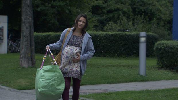 Schulabbrecherin Raffaela Höll ist hochschwanger. Von einem Ex-Junkie, der si...