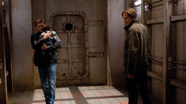 Nur zusammen können Sam (Jared Padalecki, r.) und Dean (Jensen  Ackles, l.)hi...