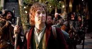 """Martin Freeman als Bilbo Baggins im Kinofilm """"Der Hobbit""""."""
