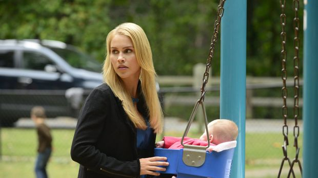 Rebekah (Claire Holt) genießt die Zeit mit ihrer Nichte, aber die friedlichen...