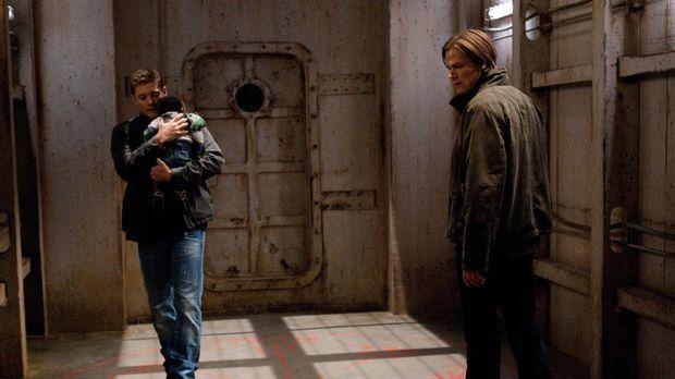Nur zusammen können Sam (Jared Padalecki, r.) und Dean (Jensen  Ackles, l.) h...