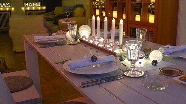 Tischdekoration-Tafel
