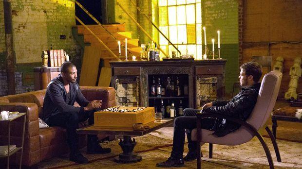 Wie lange wird die Allianz zwischen Marcel (Charles Michael Davis, l.) und Kl...