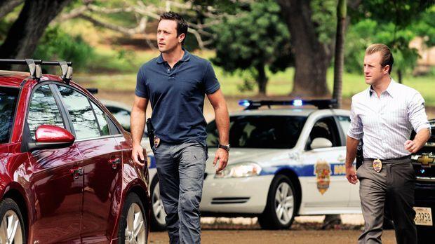 Ein neuer Mordfall wartet auf Steve (Alex O'Loughlin, l.) und Danny (Scott Ca...