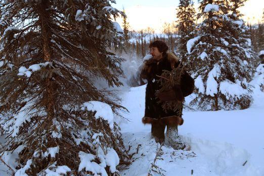 Life below Zero - Überleben in Alaska - Auf der Suche nach Feuerholz: Glenn ....