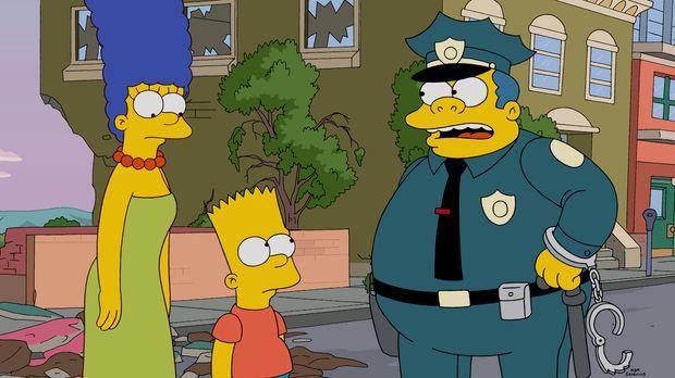 Steckt Bart (M.) hinter der Bulldozer-Attacke auf die Stadt oder nicht? Chief...