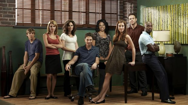 (1. Staffel) - Private Practice: (v.l.n.r.) William Dell Parker (Chris Lowell...