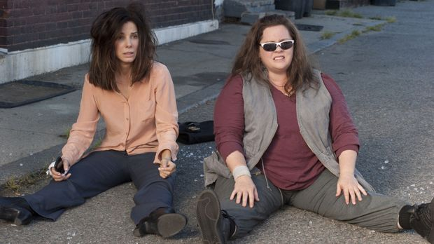 FBI Agentin Sarah Ashburn (Sandra Bullock, l.) ist alles andere als ein Teamp...