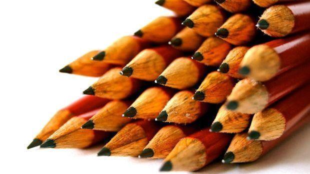 Der Bleistift, eine der genialsten Erfindungen – und zufällig noch dazu.