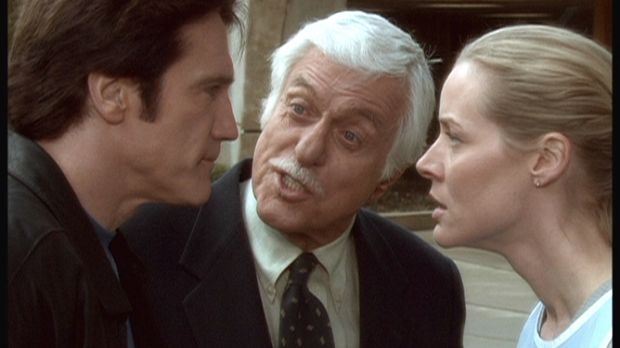 Steve (Barry Van Dyke, l.) und Ellen (Kim Quinn, r.) streiten sich über ihre...