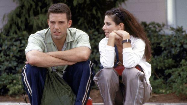 Seit Ben (Ben Affleck, l.) die chaotische Sarah (Sandra Bullock, r.) getroffe...