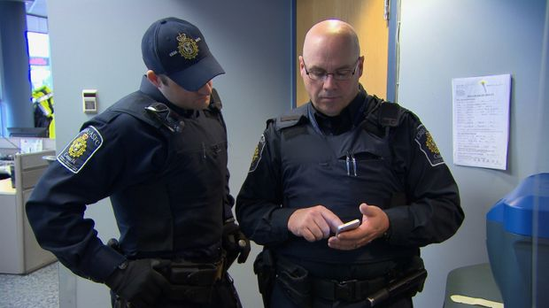 Die Beamten an der kanadischen Grenze haben alle Hände voll zu tun ... © Forc...