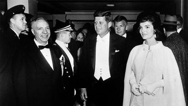 Jackie Kennedy und John F Kennedy