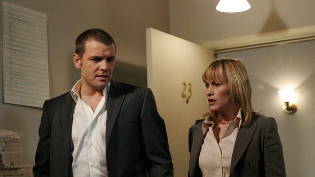Als Allison (Patricia Arquette, r.) und Detective Lee Scanlon (David Cubitt,...