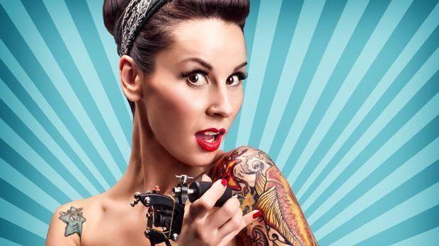Tattoopflege nach dem Stechen