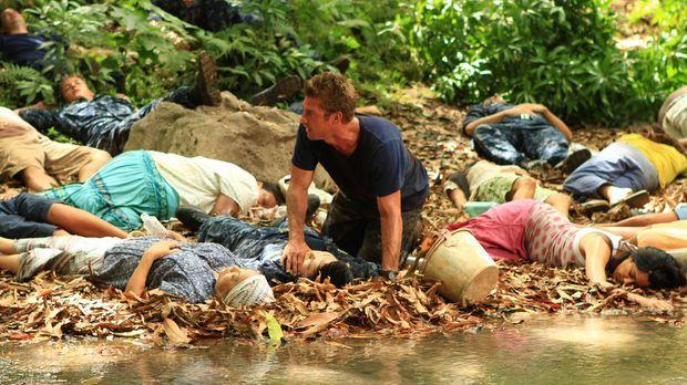 Als Sam (Scott Speedman M.) wieder zu sich kommt, begreift er, dass der Fluss...