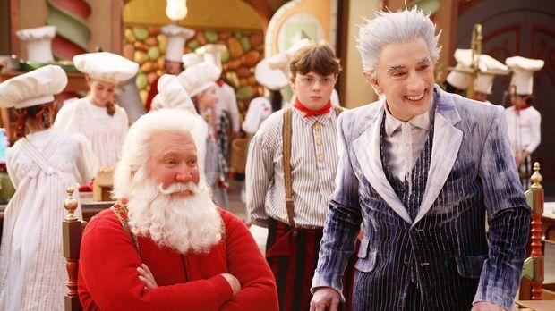 Santa Clause 3: Eine frostige Bescherung - Jack Frost (Martin Short, r.), eig...