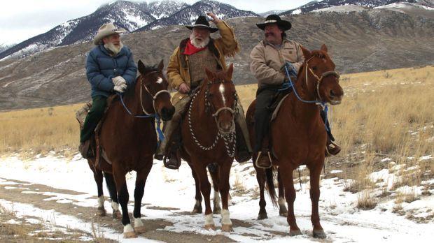 Zusammen mit seinen Freunden Jack (M.) und Will (r.) versucht Tom (l.) die Wö...