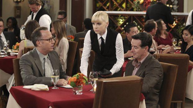 Auch die Gäste im Schicki-Micki-Restaurant in Napa Valley, in dem Christy (An...