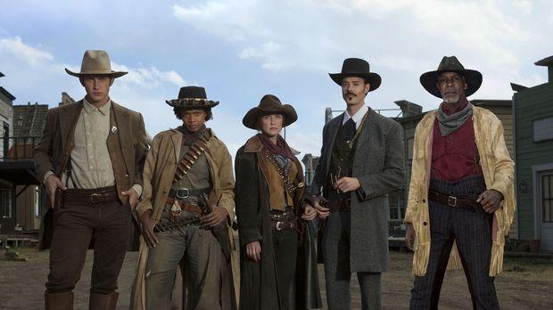 Wollen der McMurphy Bande endlich das Handwerk legen: (v.l.n.r.) Wyatt Earp (...