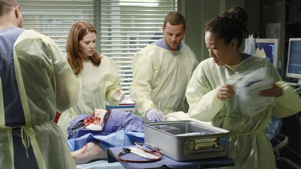 Ausnahmezustand im Seattle Grace Hospital: Jackson (Jesse Williams, l.), Apri...