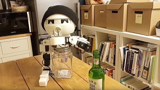 Roboter Drinky