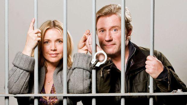 Das total verrückte Wochenende - Hannah (Tina Ruland, l.) und ihr Mann, der ü...