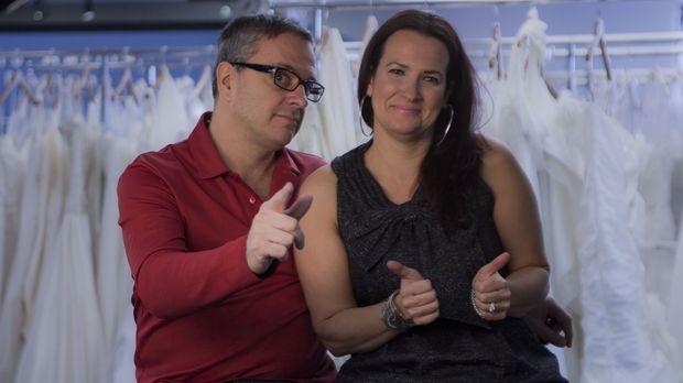 Rick (l.) und Leslie (r.) wollen auch ihren Kundinnen mit kleinem Budget ein...