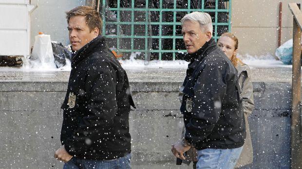 Ermitteln in einem neuen Fall: Tony (Michael Weatherly, l.) und Gibbs (Mark H...