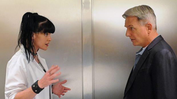 Arbeiten an einem neuen Fall: Abby (Pauley Perrette, l.) und Gibbs (Mark Harm...